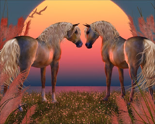 Two Horses Wallpaper 1280x1024