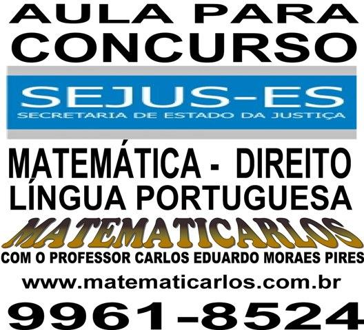 MATEMATICARLOS - EXERCÍCIOS RESOLVIDOS