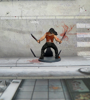 El Cholo Survivor Zombicide Zombie paint Painted