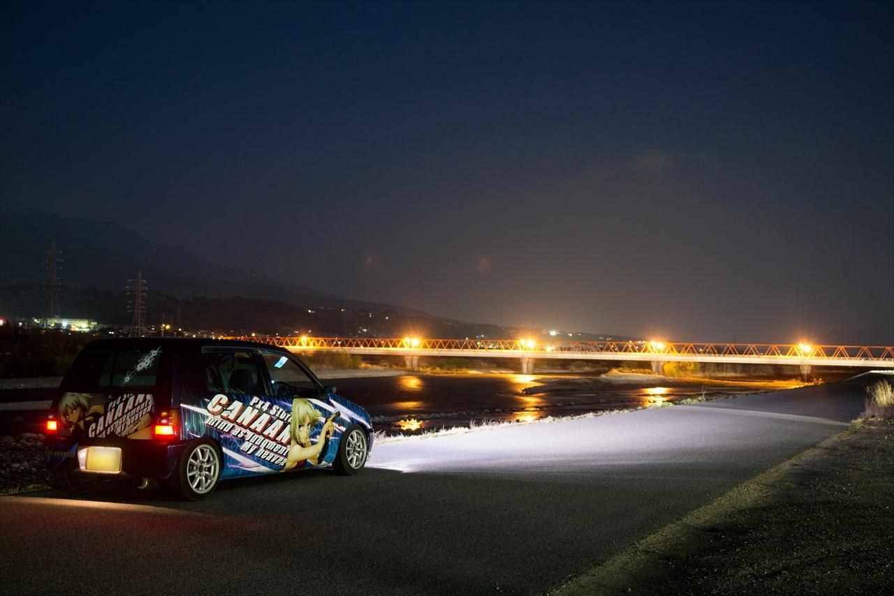 Suzuki Alto, kei car, nocne fotki, mały samochód, japońskie, galeria, zdjęcia