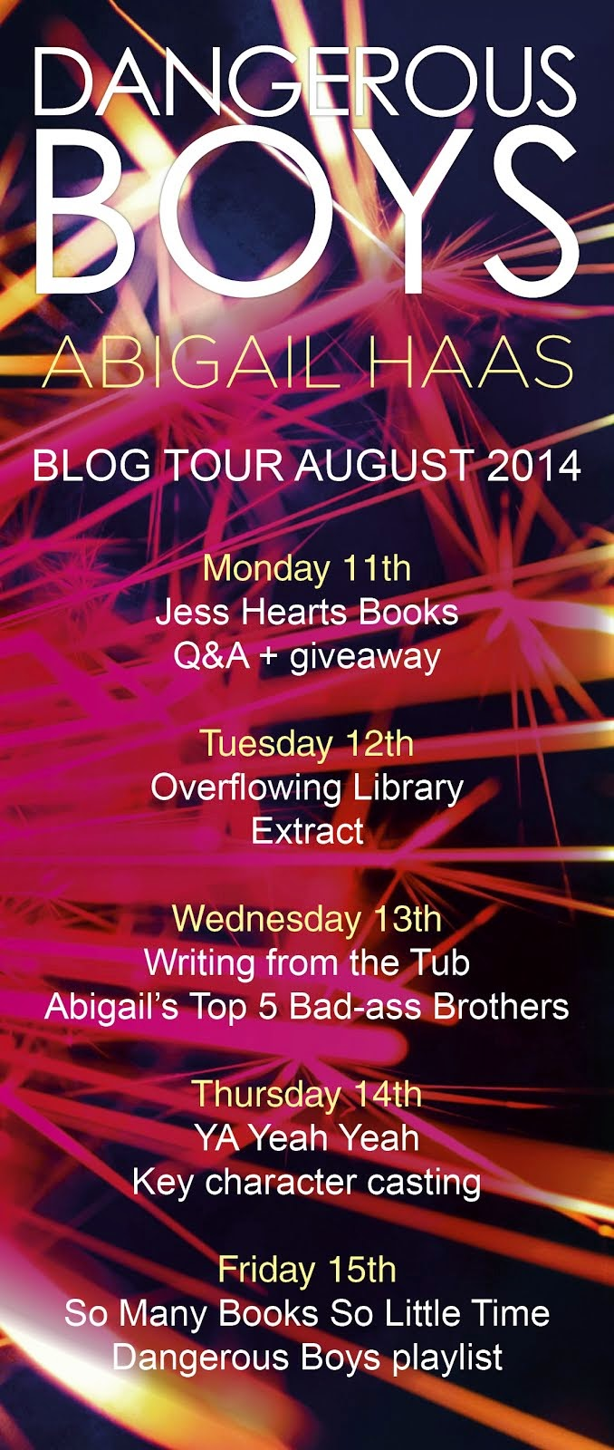 Dangerous Boys Blog Tour