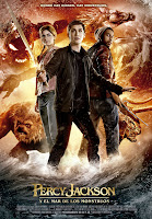 Percy Jackson y el Mar de los Monstruos, cartel, estrenos de la semana, Logan Lerman, Sean Bean, Nathan Fillion, Making Of, películas, cine, directores