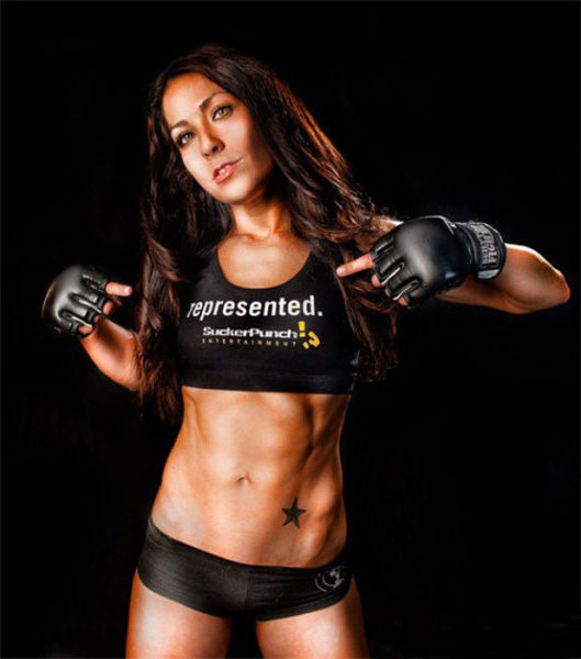 f2b74 sexiest mma fighters 05 The 10 Sexiest Female Fighters In MMA