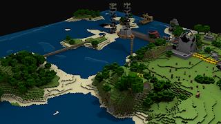 Minecraft Game Landscape HD Wallpaper