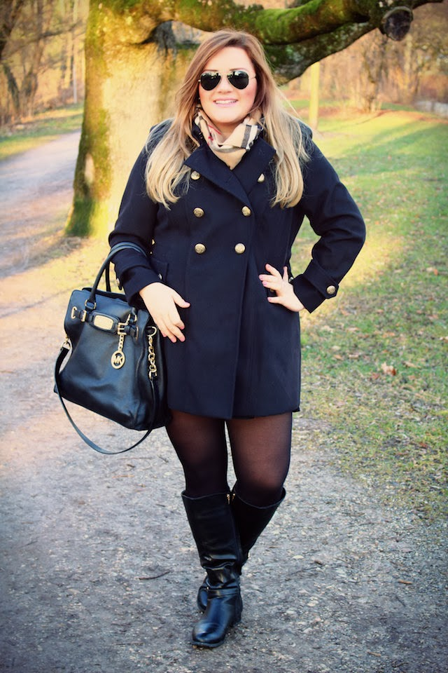 Plus Size Outfit – Wintermantel/Coat