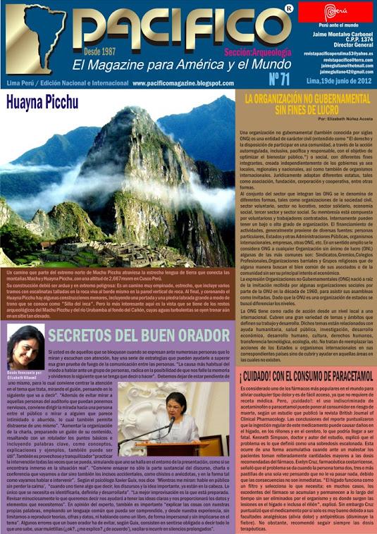 Revista Pacífico Nº 71 Arqueología