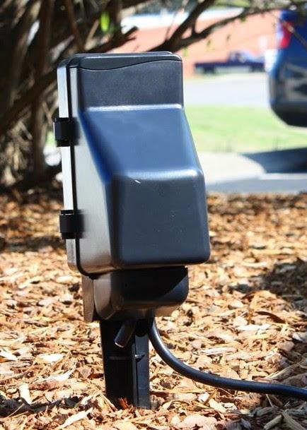 DPL Surveillance 6 Outlet Outdoor Power Plug Hidden Camera W B