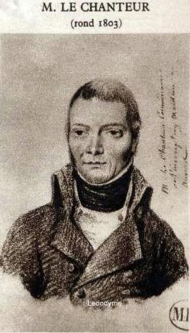Jean-Pierre Le Chanteur 1760-1846. Zondagsvriend 11-09-1932. Verzameling Leondyme.