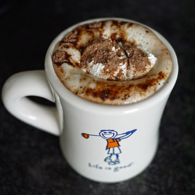 Irish Spiked Hot Chocolate
