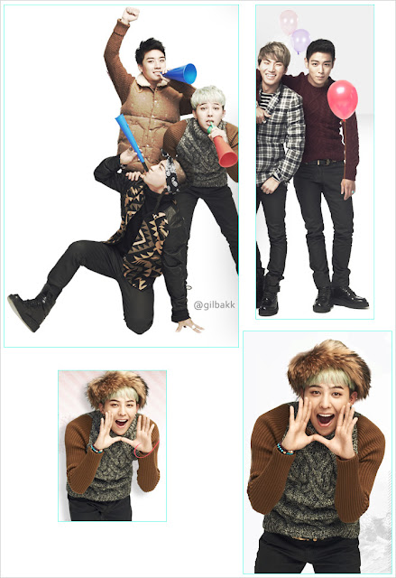 Big Bang Gmarket ads for November 2012