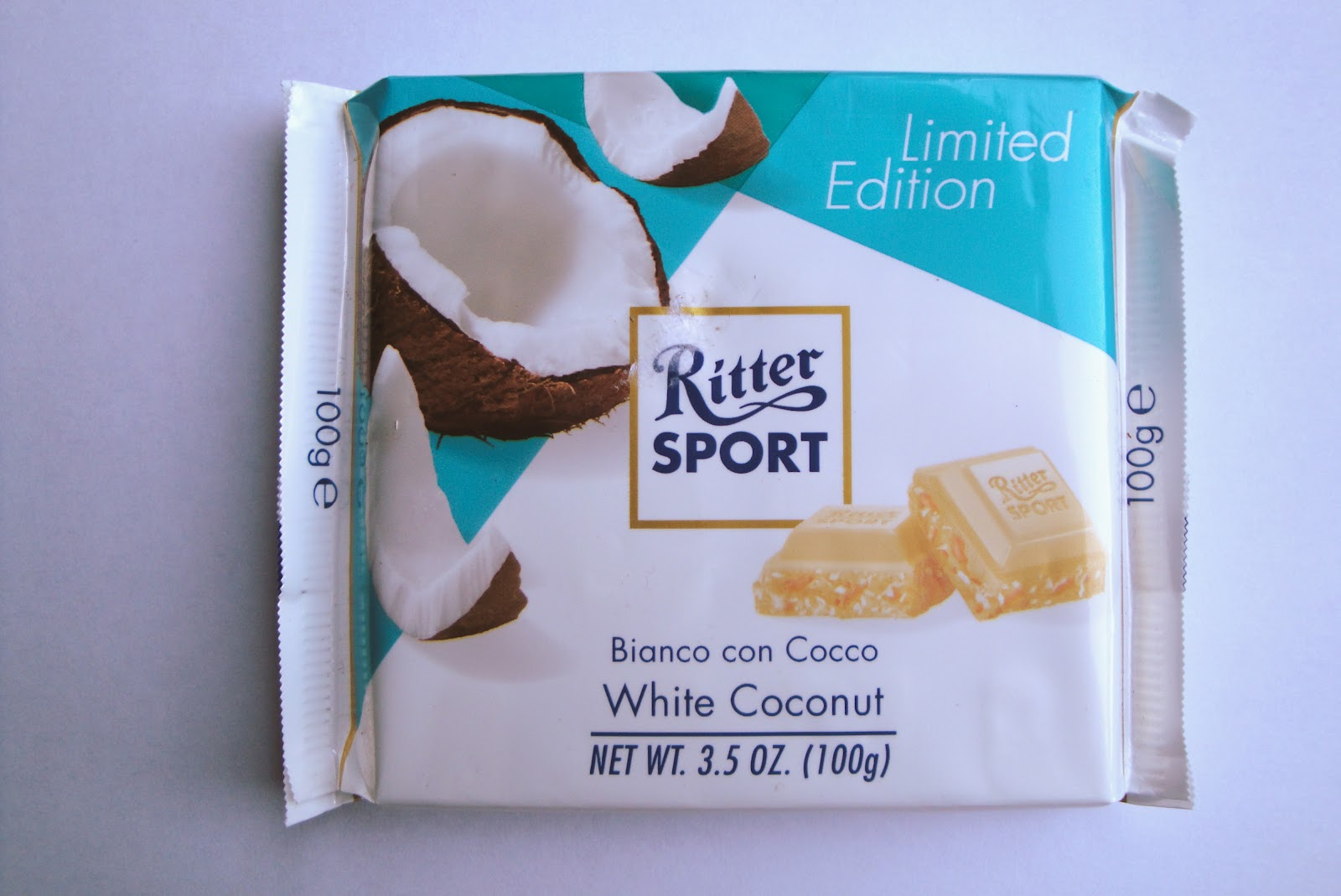 Grocery Gems: Ritter Sport Limited Edition White Coconut chocolate