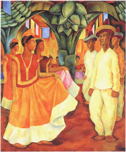 Tyras tr dg rd tyras garden diego rivera for Diego rivera s most famous mural