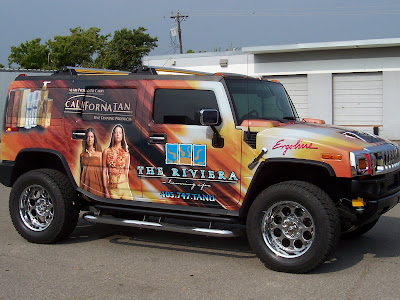 Riveria Hummer Airbrush Art Work