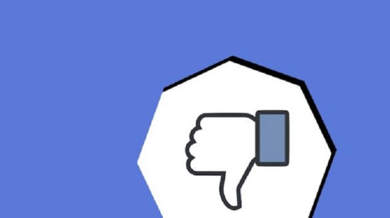 Facebook testing new 'downvote' button
