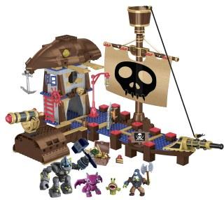 Afbeelding Mega Bloks Skylanders Crushers Pirate Quest gebouwd