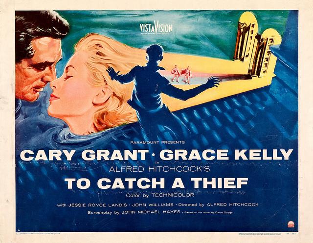 """Stylizacje Grace Kelly w filmie """"To catch a thief"""""""