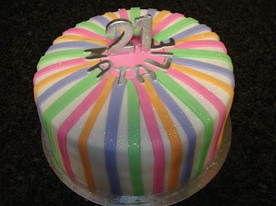 Happy 21st Natalie Cake