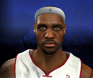 NBA 2K14 LeBron James Cyberface Mod