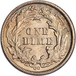1873 dime
