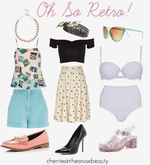 Oh So Retro Summer Fashion featuring River Island