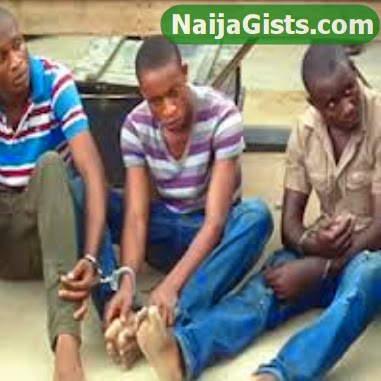 armed robbers arrested in lagos