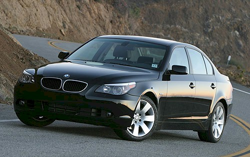 BMW-5-Series � Features &