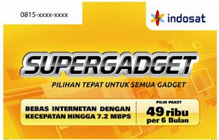 Kartu Indosat SuperGadget