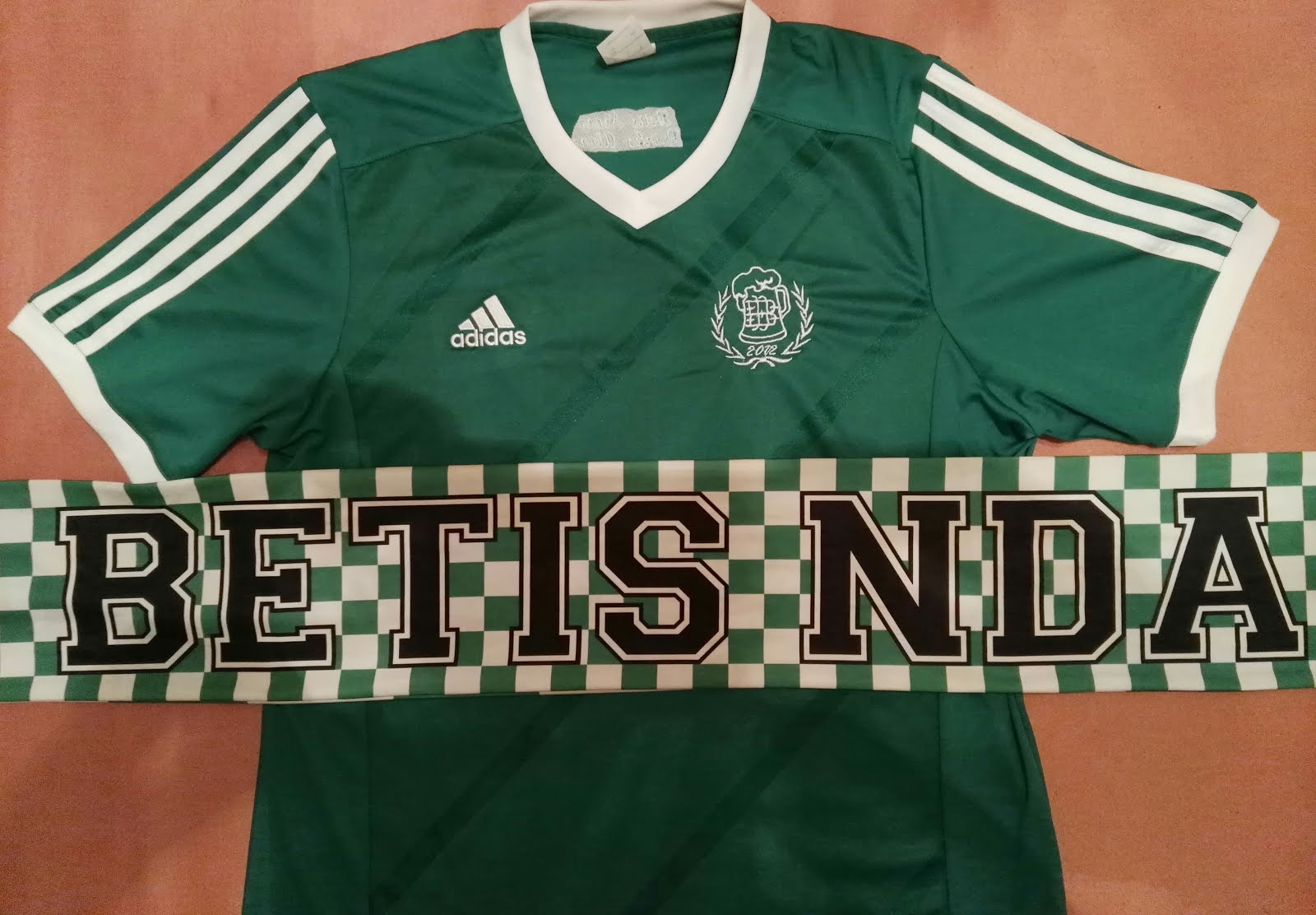 MATERIAL BETIS NEVER DRIKS ALONE