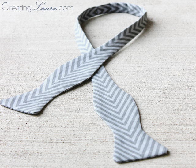 Creating Laura: Father's Day Bow Tie