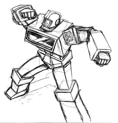 Ironhide Coloring Pages in action