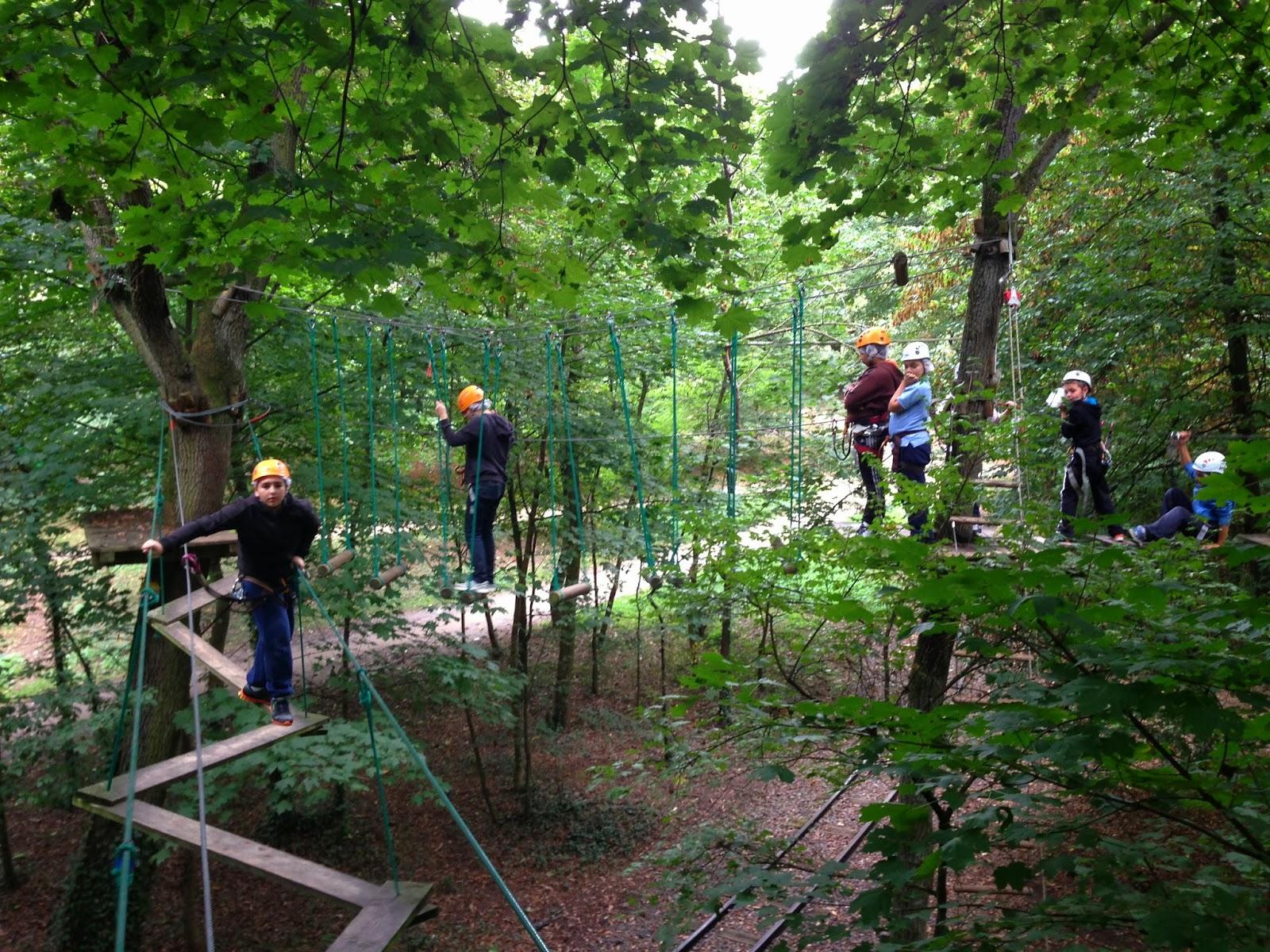 secours populaire fran 231 ais montrouge aventure dans les arbres