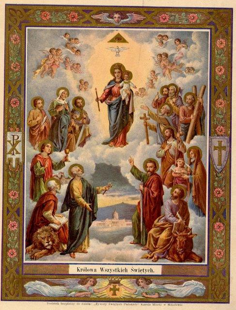 list of saints,