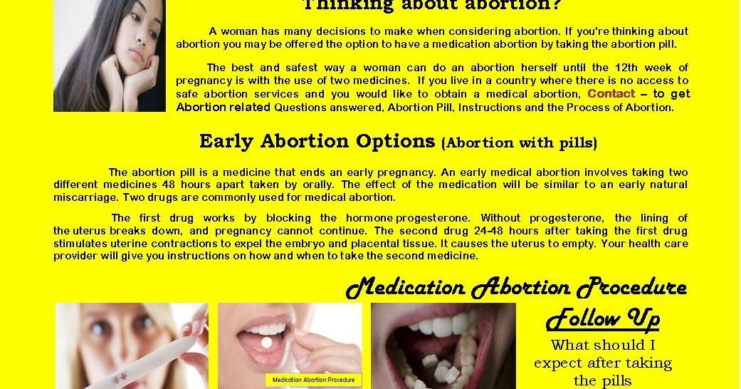 Online Abortion Help Abortion Pillmifepristone And Misoprostol In