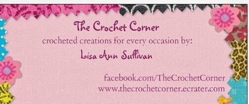 The crochet corner free pattern business card holder the crochet corner reheart Choice Image
