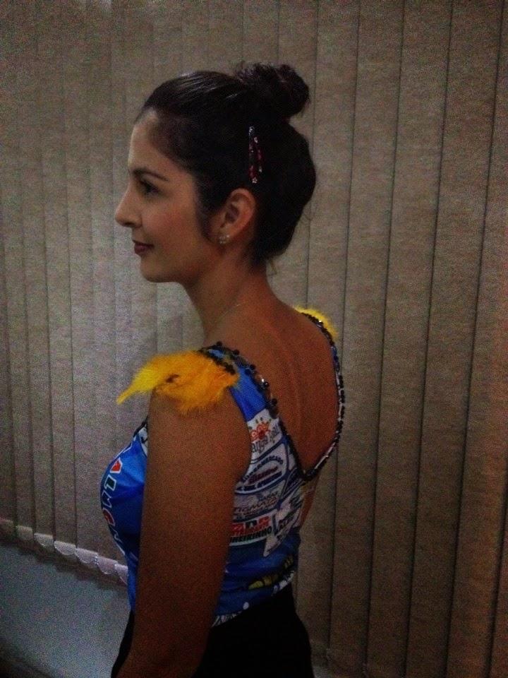 Pitanga Real e a jornalista, Edna Motta brilhando no Carnaval