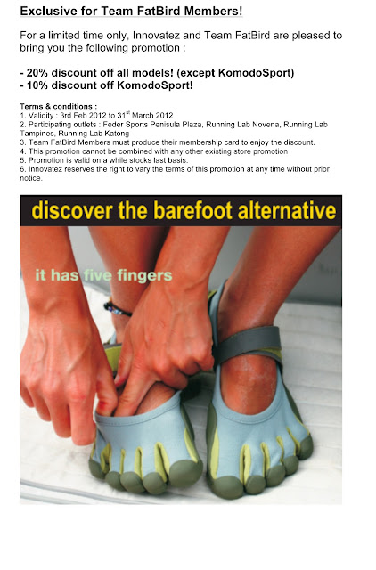 Vibram Five Fingers (VFF) exclusive