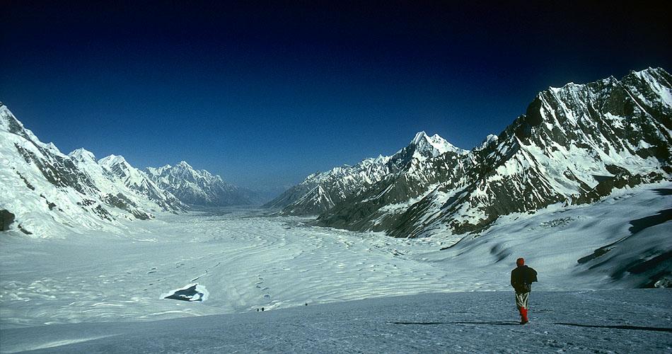 Hispar Pass,Hunza in Pakistan