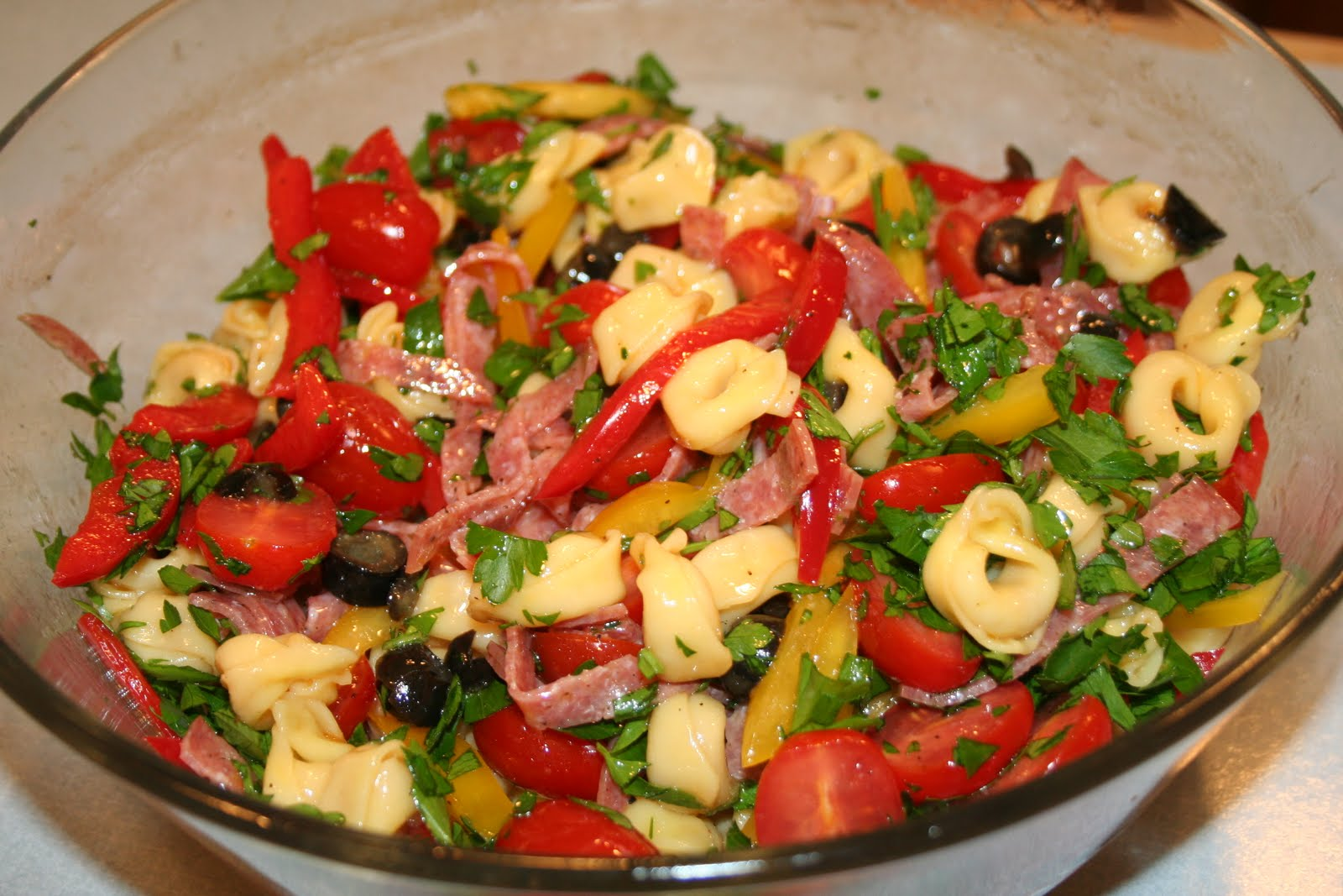 COOK WITH SUSAN: Antipasto Tortellini Salad