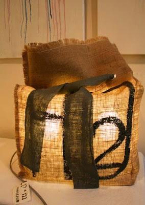 lampe eco design faite à aix en provenceà la main