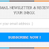 Popup Email Subscription Widget for Blogger
