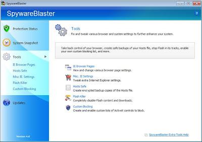 SpywareBlaster v4.6