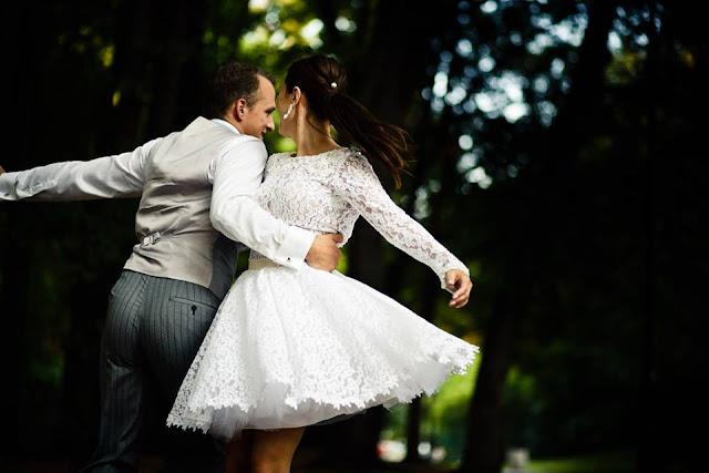 Koronkowa stylizacja ślubna