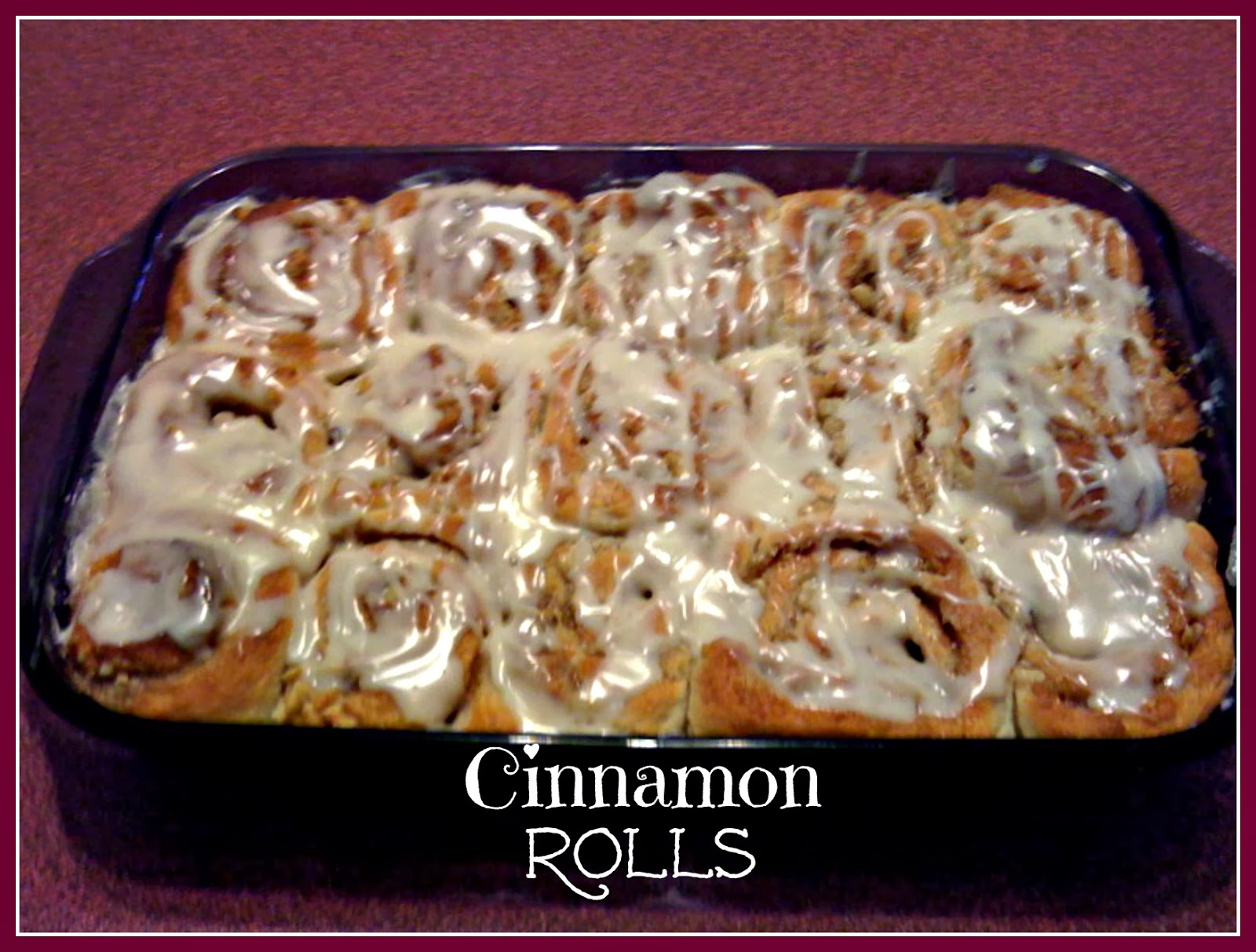 Sweet Tea and Cornbread: Ooey Gooey Cinnamon Rolls!