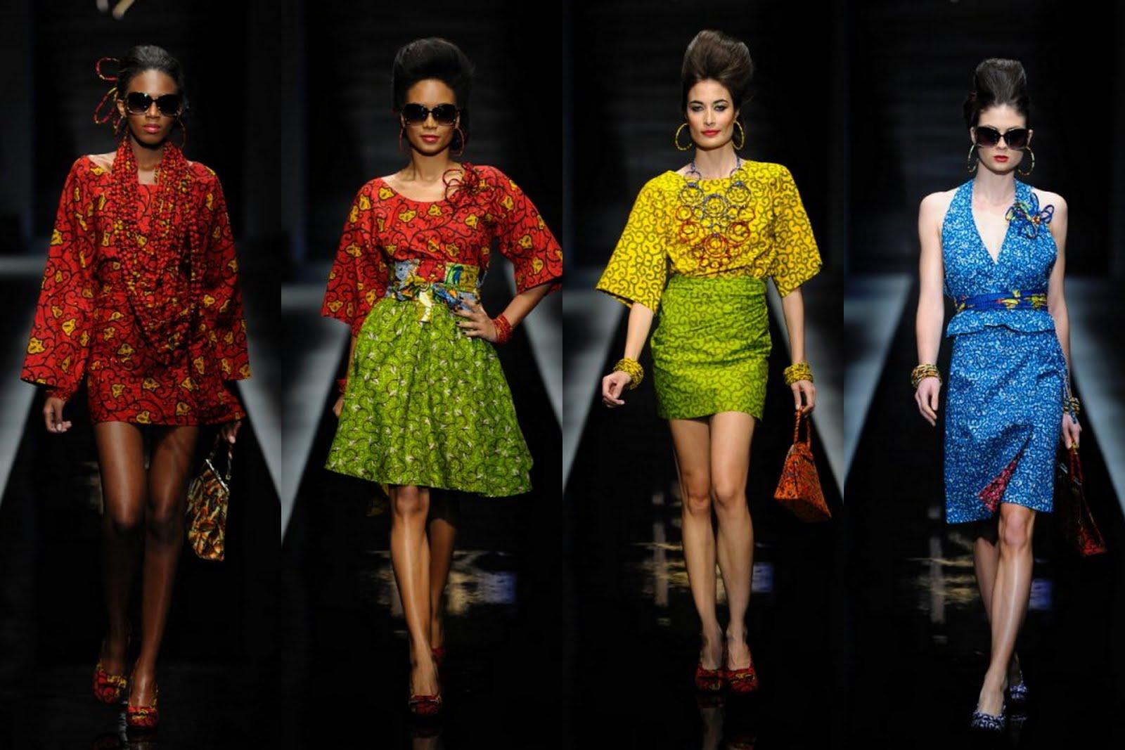 Print African Dress Styles