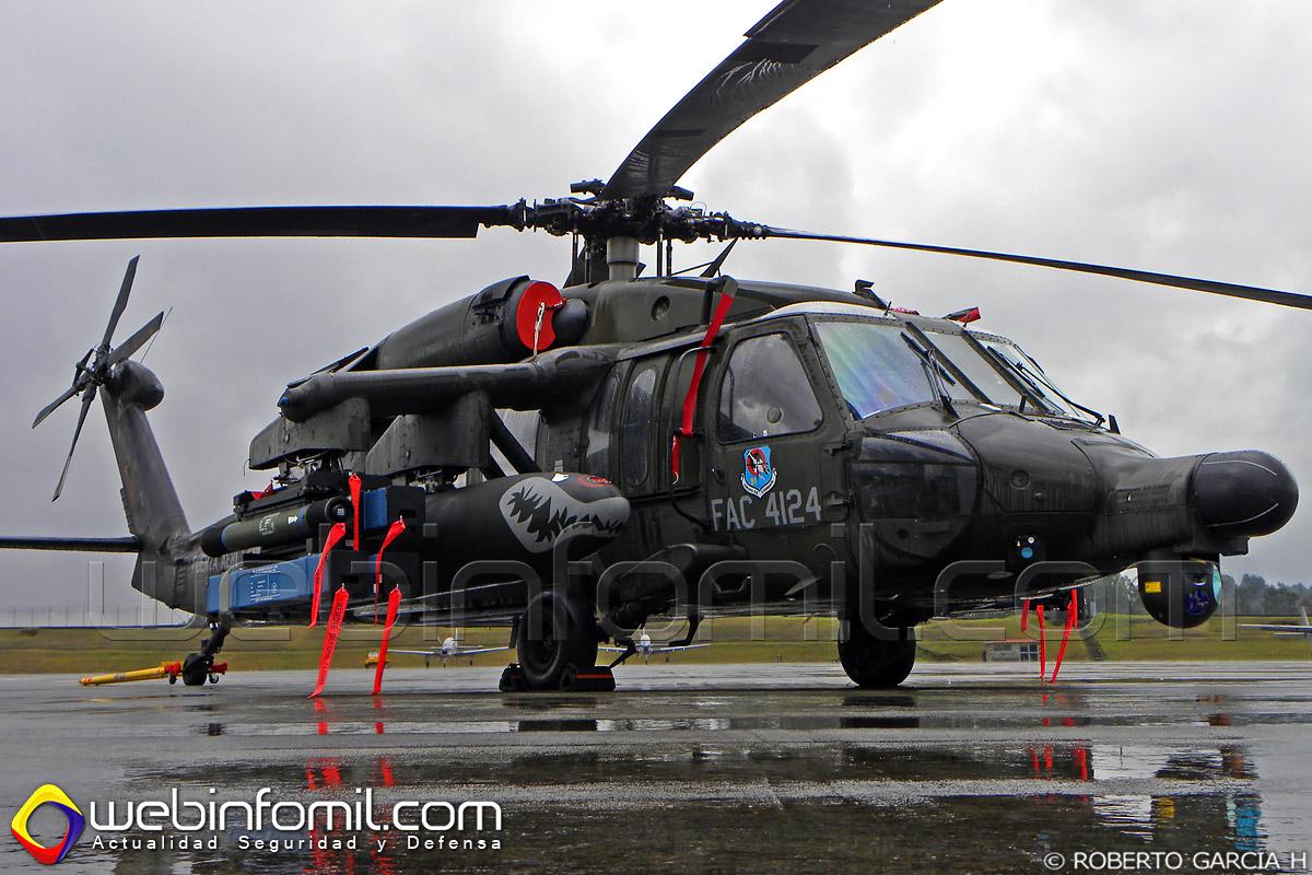Arpia IV de la Fuerza Aerea Colombiana