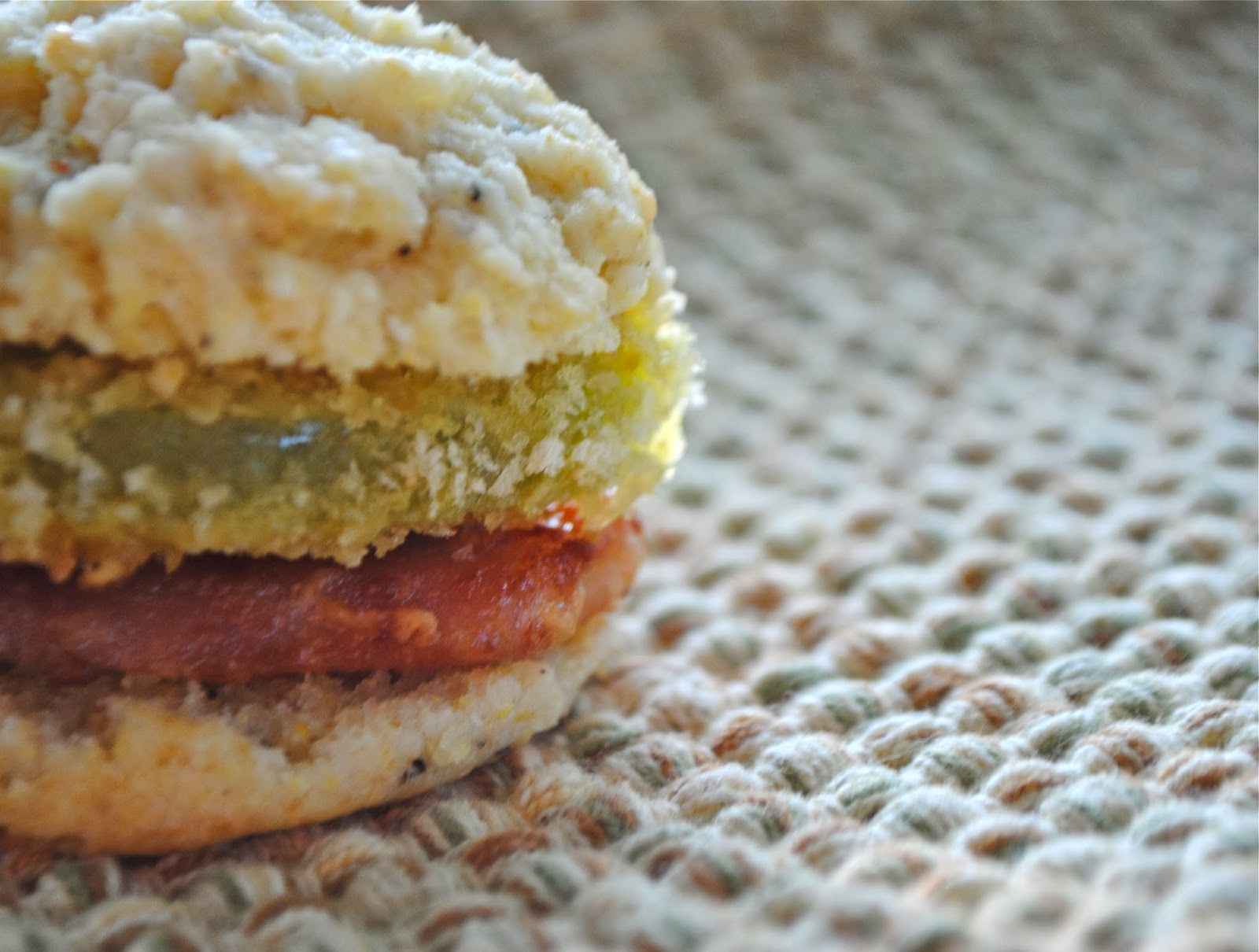... of the cornmeal biscuit with country ham and fried green tomato