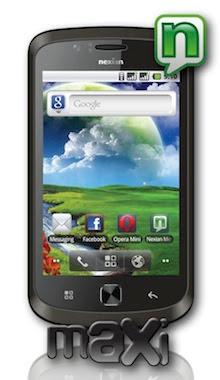 harga Nexian Android Maxi A725 spesifikasi
