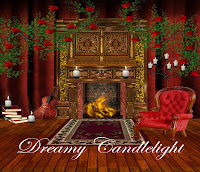 Dreamy Candlelight digital fantasy backgrounds