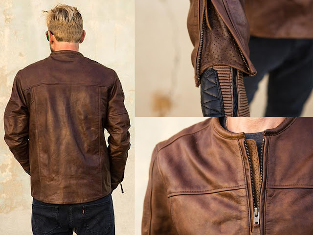 Ducati Brown Leather Jacket
