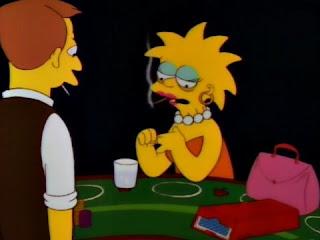Dorosła Lisa jako hazardzistka